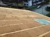 Eingebaute Holzfaserdämmung