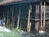 Erneuerung einer schadhaften Blockwandkonstruktion