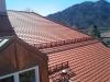 Biberschwanzdeckung mit Dachgaube