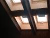 Vierfach kombiniertes Dachfenster