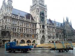 Dachstuhlsanierung Marienplatz München