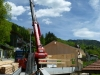 Montage Bauelemente mit Teleskoplader
