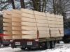 Bauholztransport