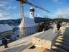 Dachstuhl Grundschule Gmund