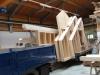 Vorgefertigte Bauelemente für Ständerbauweise