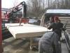 Verlegung einer Brettsperrholzdecke