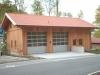 Feuerwehrhaus in Ständerbauweise
