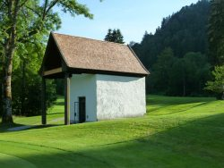 Schindeldach Kapelle