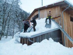 Schneeraeumaktion
