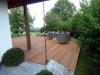 Terrassenbelag aus Bankirai Bohlen am Lanserhof