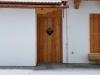 Garagentür aus Lärchenholz
